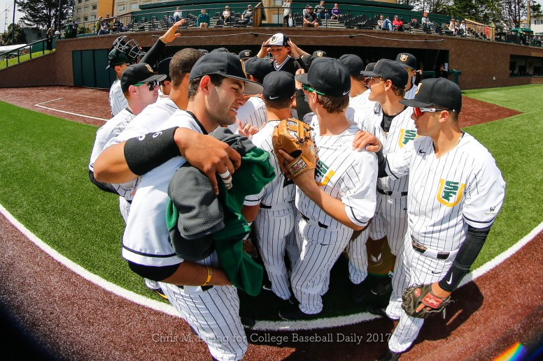 4/15/17: USF BASE vs Portland Pilots at Benedetti Diamond in San Francisco, CA. Portland wins 4-1. Image by Chris M. Leung for USF Dons Baseball