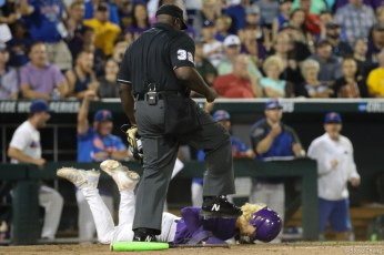 Florida defeats LSU 6-1 to win the 2017 College Baseball World Series (Photo by Steve Cheng).