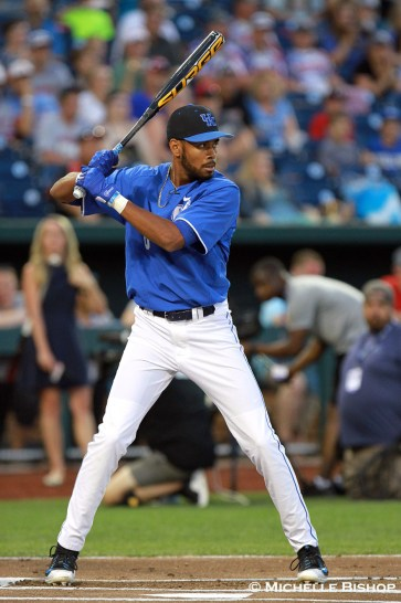 Kentucky's Tristan Pompey. The eighth annual College Home Run Derby was held Saturday, July 1, 2017 at TD Ameritrade Park in Omaha. (Photo by Michelle Bishop)