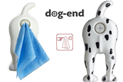 Doggy Butt Towel Hanger