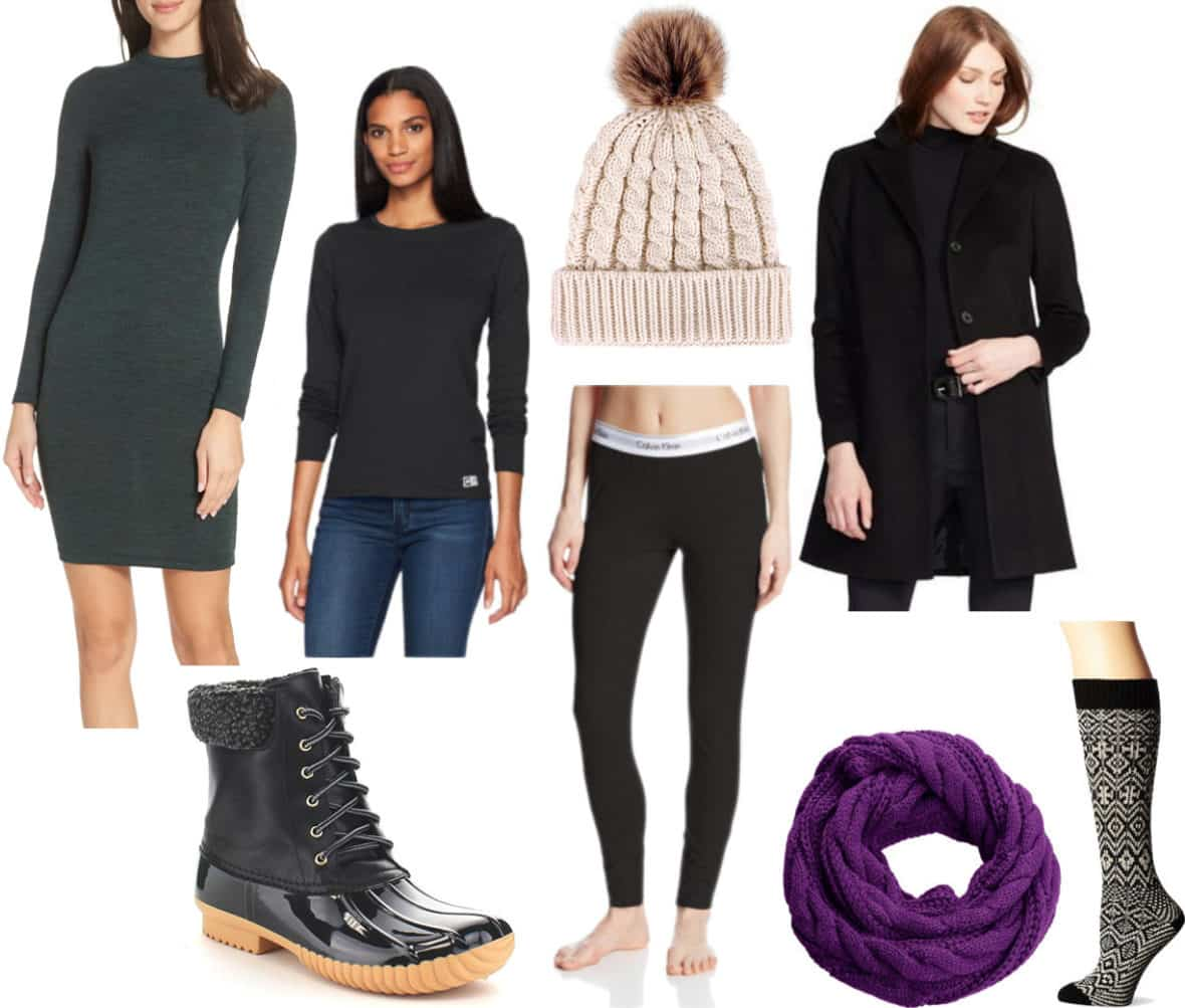 What To Wear When It S Really Cold 4 Outfits For Below