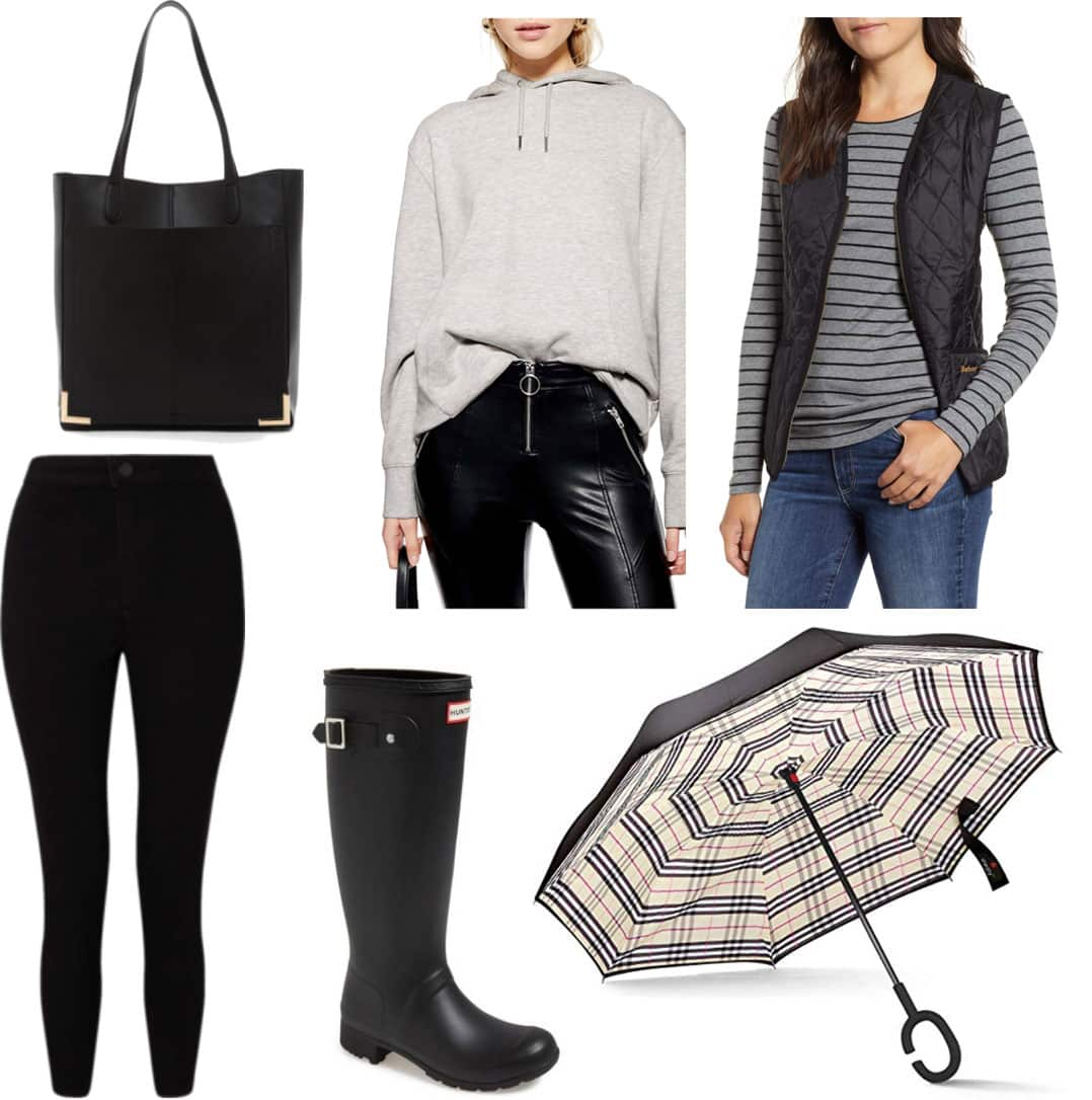 What Do I Wear There Outfits For Cold Rainy Days