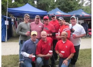 Boyz weekend at THE GROVE for LSU at Ole Miss, 2013.
