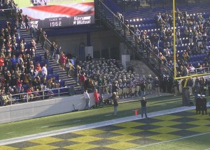 "Navy may get another ""home game"" this season with a bid to play in this year's Military Bowl."