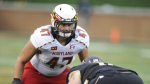 Maryland LB Cole Farrand  is now a New York Giant.