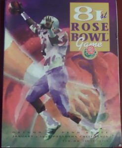 In 1995, we watched Penn State defeat Oregon in The Rose Bowl to finish the season undefeated, but they finished at No. 2 to Nebraska.