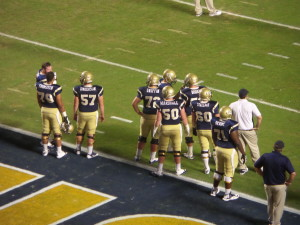 The Georgia Tech line returns some experience after their Orange Bowl victory last season.