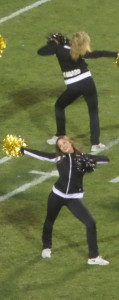 I didn't get to see the Song Girls as I had wished, but the CU Dance team was enjoyable to watch!