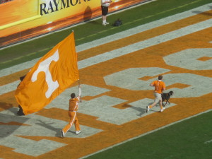 Tennessee mascot Smokey ran for more yards yesterday celebrating touchdowns than did the Northwestern offense.