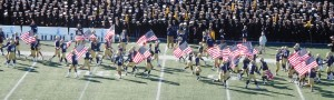 A beautiful day for a Navy football game in Annapolis!