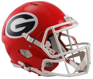 University Of Georgia Replica Speed Helmet