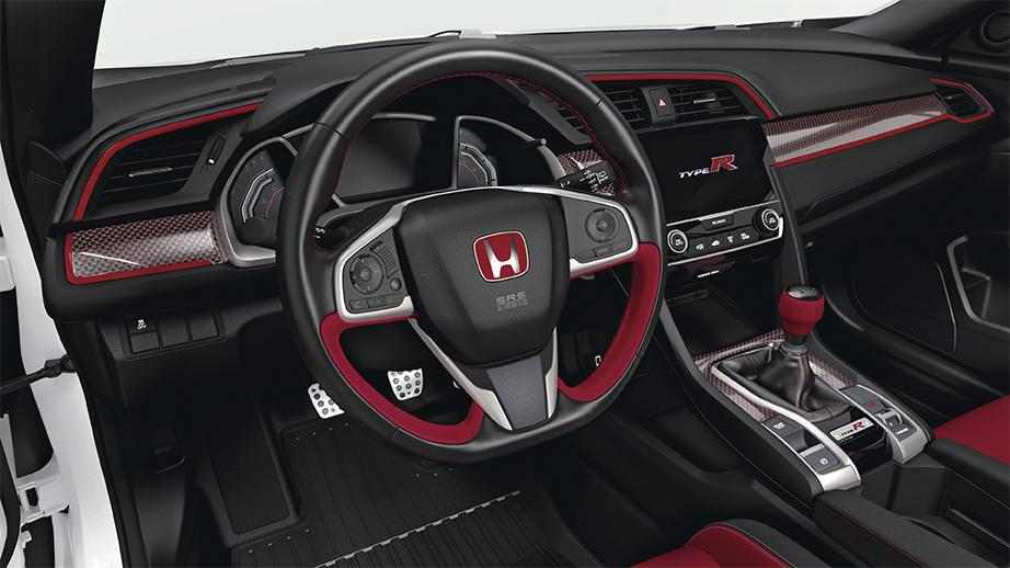 2017 2019 Civic Type R Carbon Fiber Interior Panel Cover