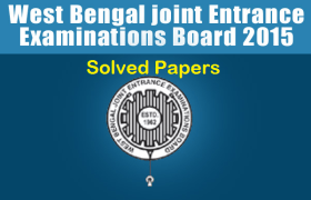 WBJEE Answer Solved Paper Download