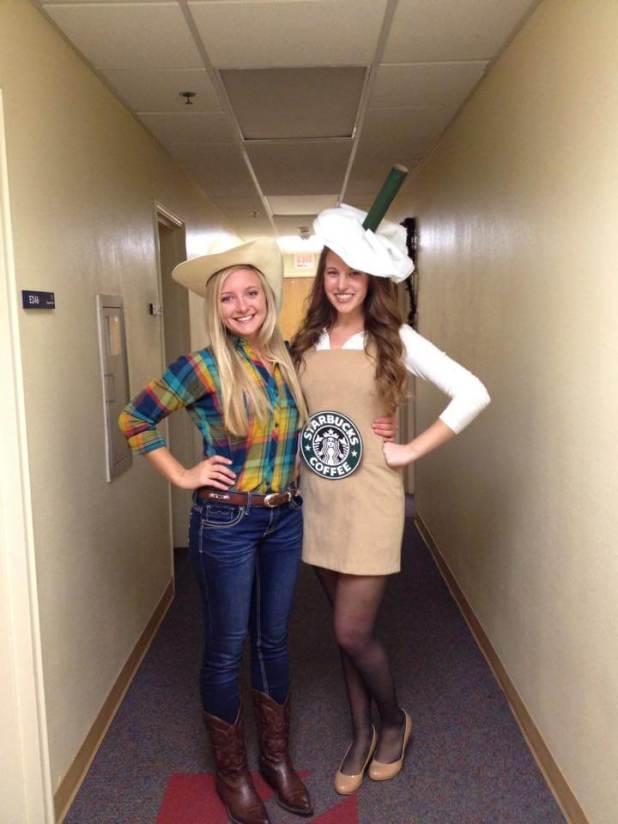 Halloween Costumes Starbucks