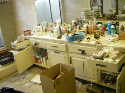 Image result for messy bathroom