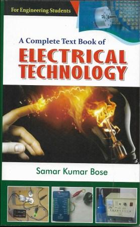 Electrical Technology By Samar Kumar Bose For 1st Year 2nd