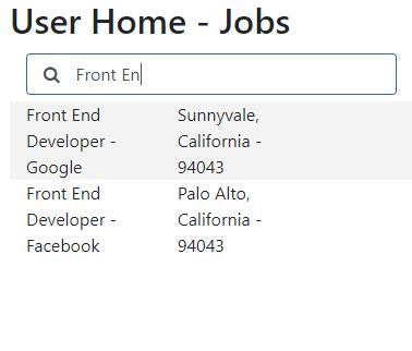jobs filter