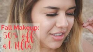Best Fall Makeup: 50% off at Ulta