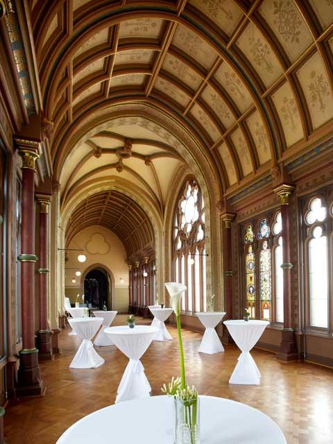 Die Kunsthalle von Schloss Drachenburg