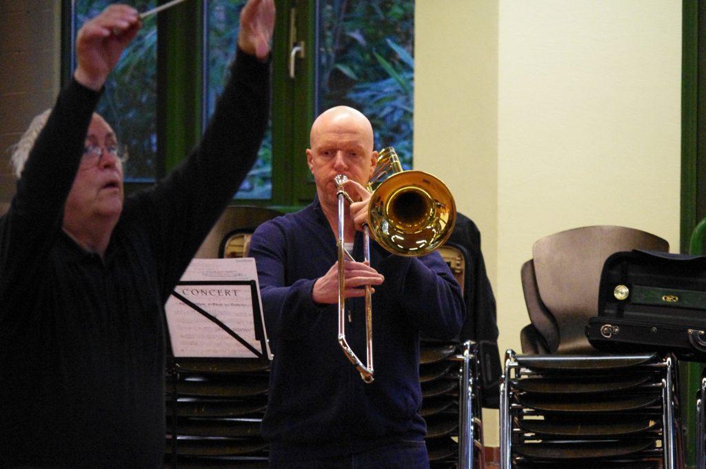 Probe zum Grøndahl Konzert