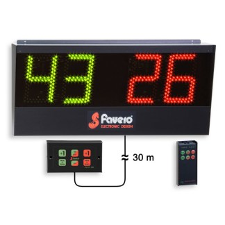Scorebord and timer counters