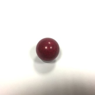 red pallino for bocce court