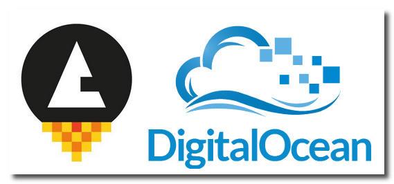 Logos RunAbove et DigitalOcean