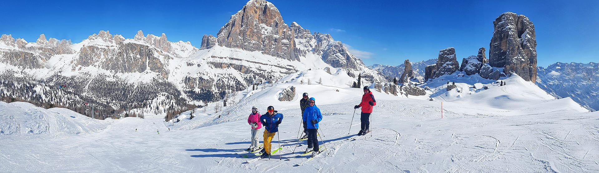 Skiing Holidays in the Dolomites