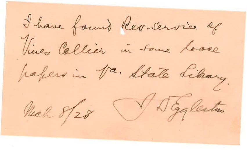 1928_03_08_Note J D Eggleston to JCC