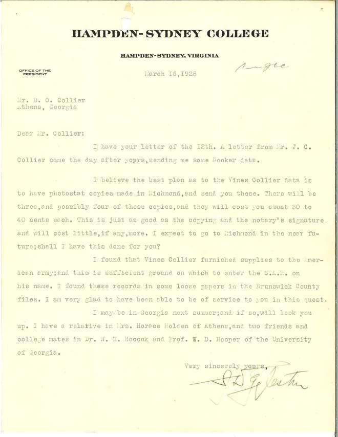 1928_03_16_Ltr J D Eggleston to DCC