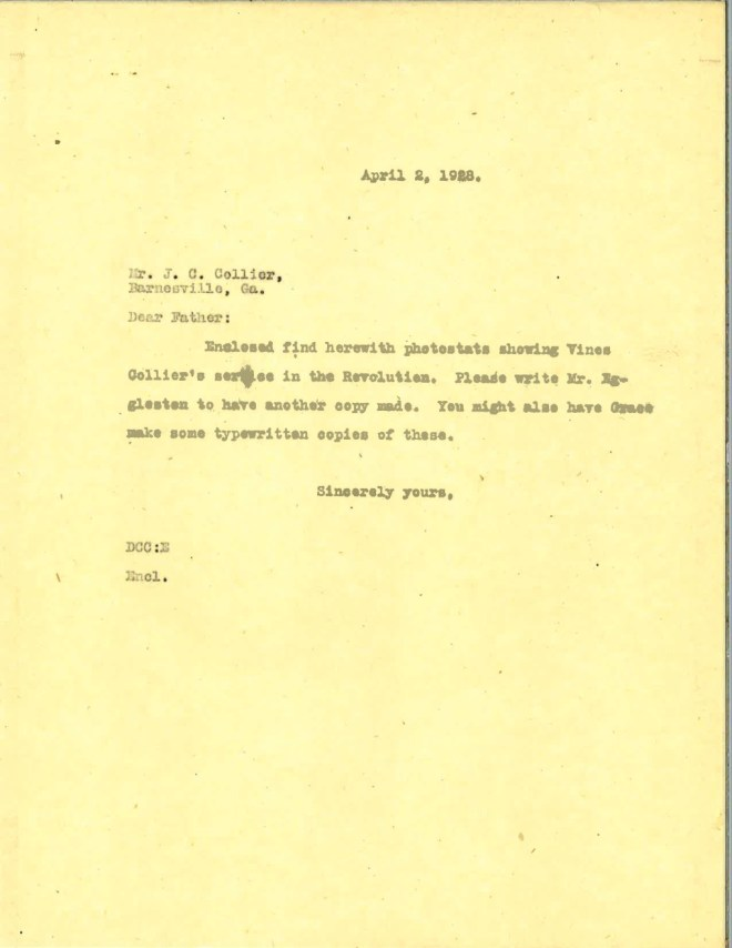 1928_04_02_Ltr DCC to JCC re Eggleston