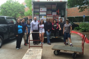 Collin College Meals on Wheels volunteers