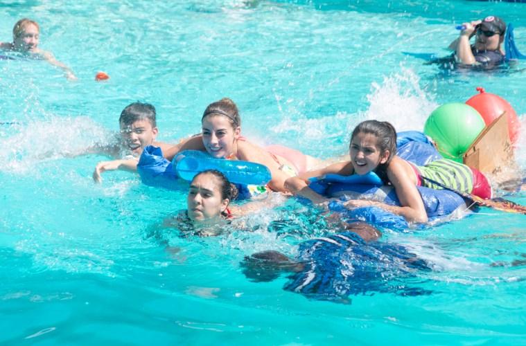 Leadership Camp Boat Races