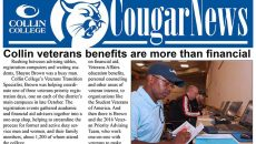 Cougar News - Veterans Special Edition: Celebrating the diversity and scope of Collin College's Veterans population and the programs offered to them.