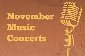 November Music Concerts graphic