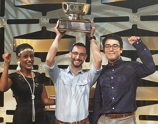 Collin College's National Sputum Bowl Winners