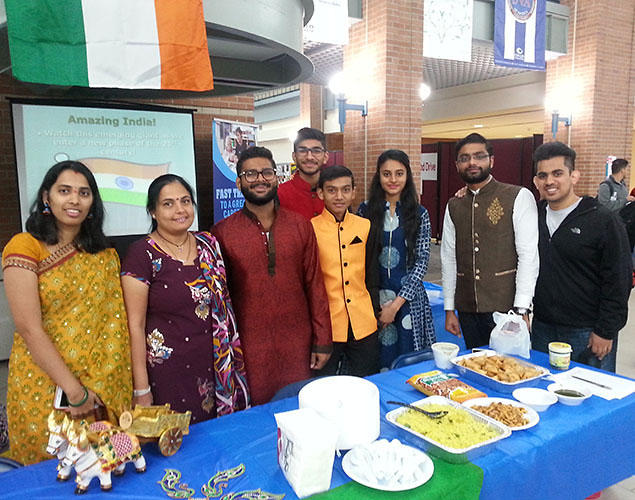 The ESL Open House at Collin College's Spring Creek Campus was a great place to learn about other cultures through food, dance and cultural displays.