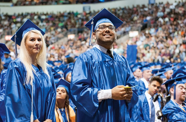 Collin Alums At 2017 Commencement Ceremony