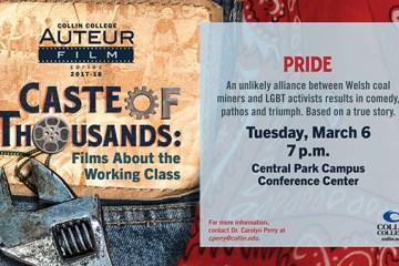 Collin College Auteur Film Series Screens Pride on Thursday, March 6