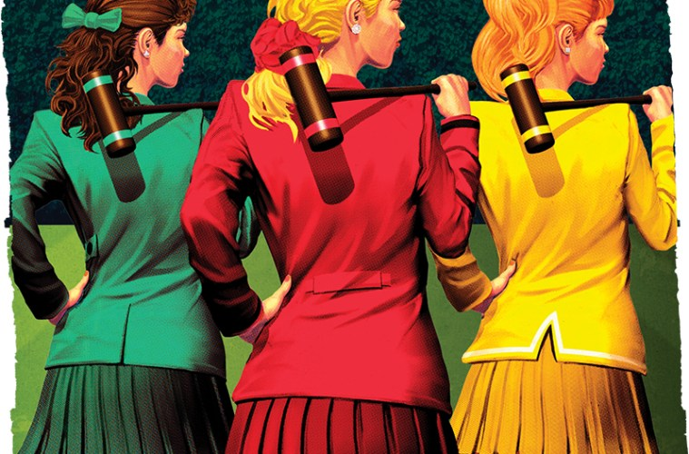 Artwork from Poster for Heathers: The Musical presented by Collin Theatre Center