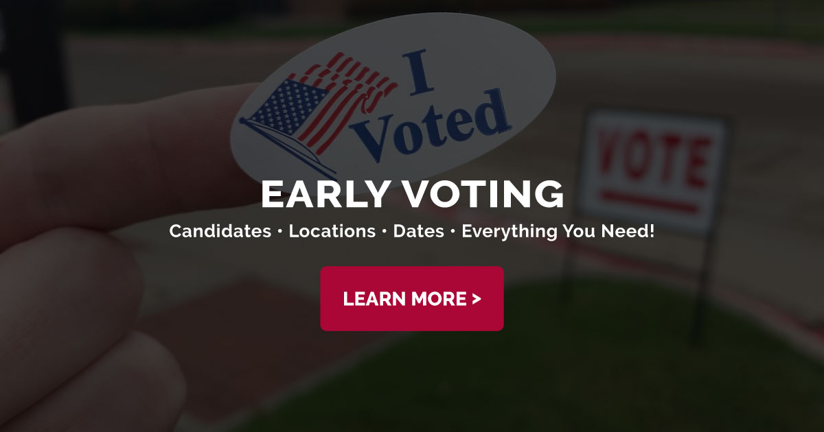 Collin County Early Voting Locations & Dates - UPDATED for ...