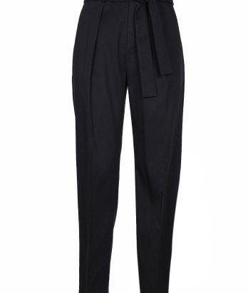 Pantaloni in twill donna-0
