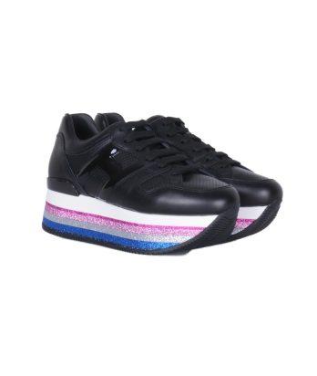 Hogan-lacci-maxi-platform-rosa-blu-bianco-2