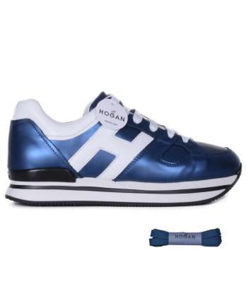 Hogan-lacci-h222-blu-metallizzato-1