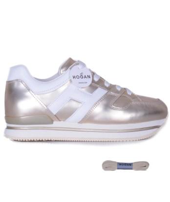 Hogan-lacci-h222-pelle-oro-platino-1