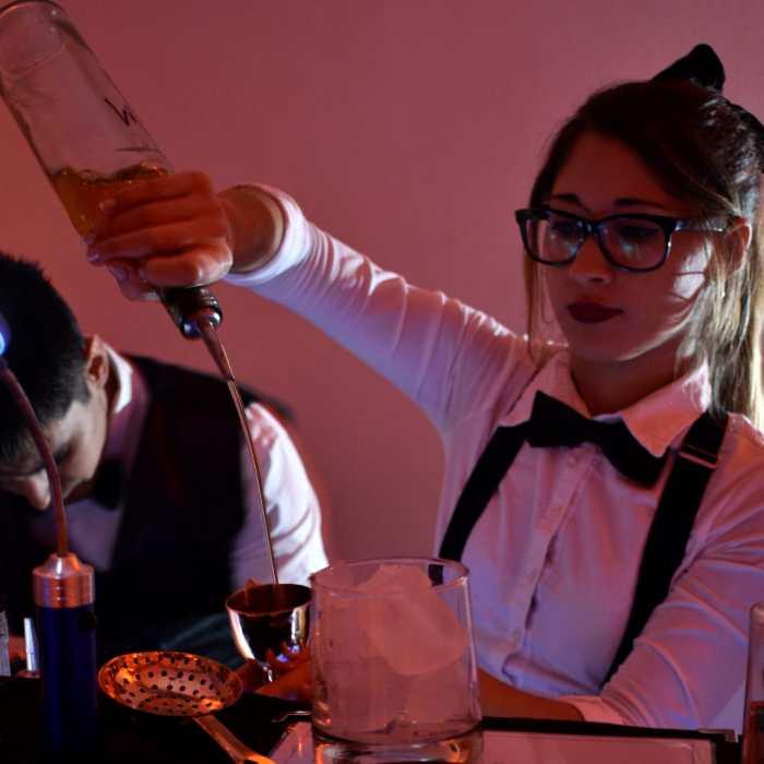 Collins barwoman