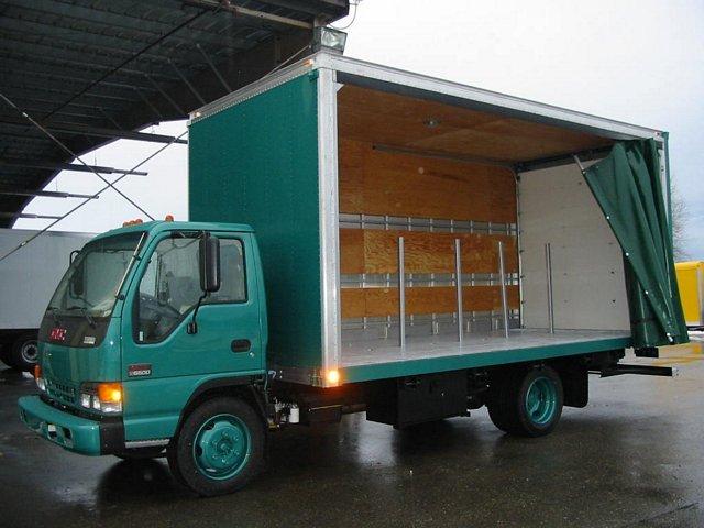 curtain sider truck bodies custom