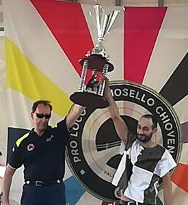 Cantun Clor Cantone Colloro primo classificato gara in linea Palio degli asini di Premosello 2018