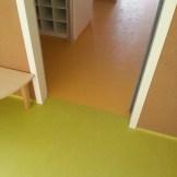 Union de pavimento vinílico (PVC) con junta de soldadura
