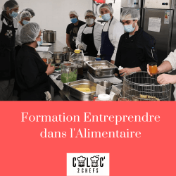 Formation Entreprendre dans l'Alimentaire